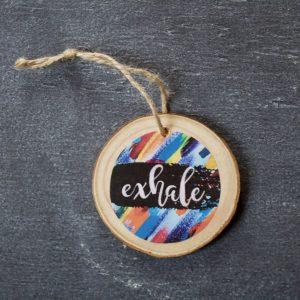 Lisa Kelley Ornament, Exhale